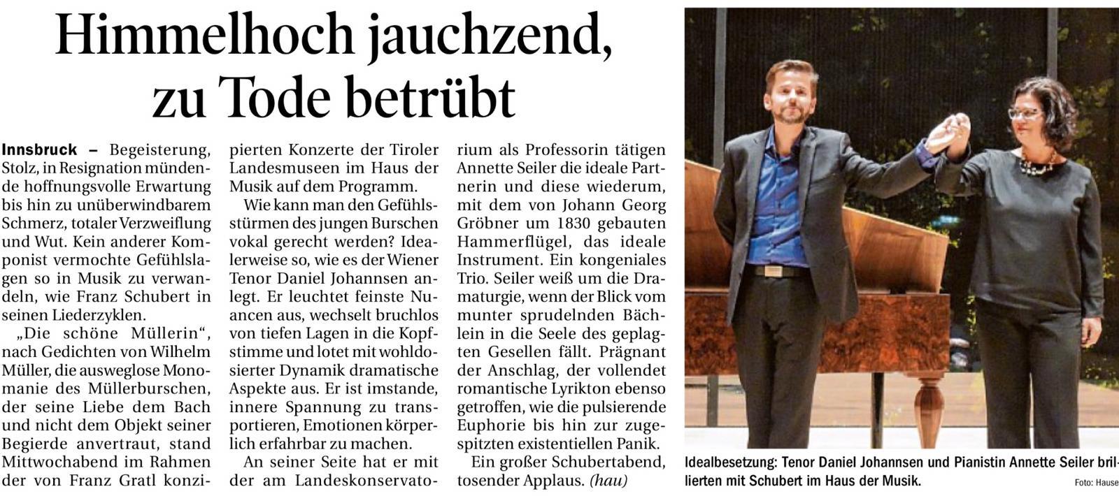 Tiroler Tageszeitung 18102019